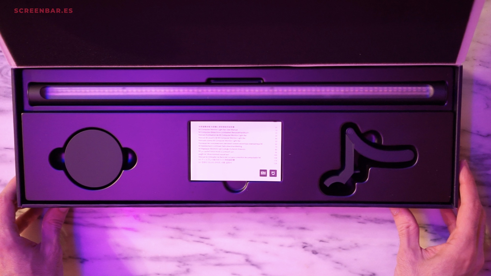 unboxing Mi Computer Monitor Light Bar